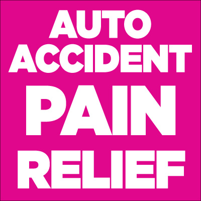 Get car crash pain relief here